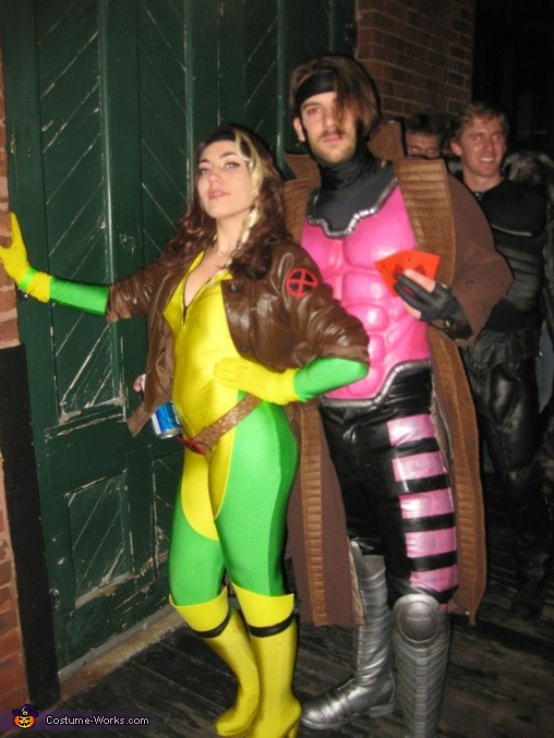 Rogue and Gambit  X-Men Rogue  Homemade Rogue Costume
