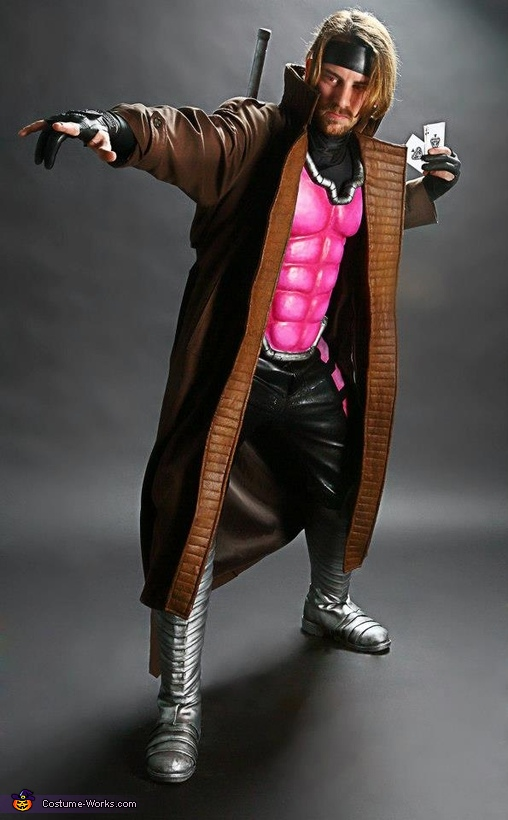 x Men Rogue Halloween Costume Gambit Costume X-men Rogue