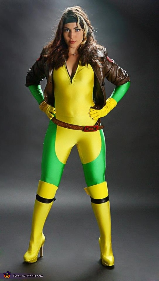 Rogue Costume, X-Men Rogue and Gambit Costume