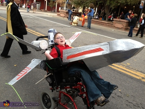 X-Wing Fighter Wheelchair Costume