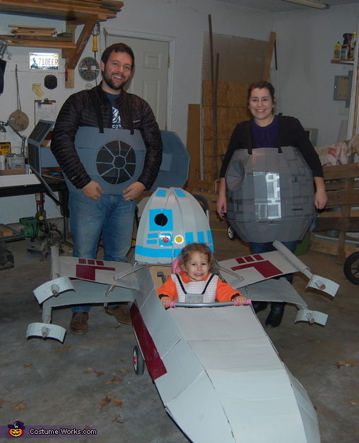 X-Wing from Star Wars Costume
