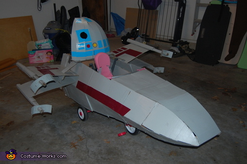 X-Wing from Star Wars Homemade Costume