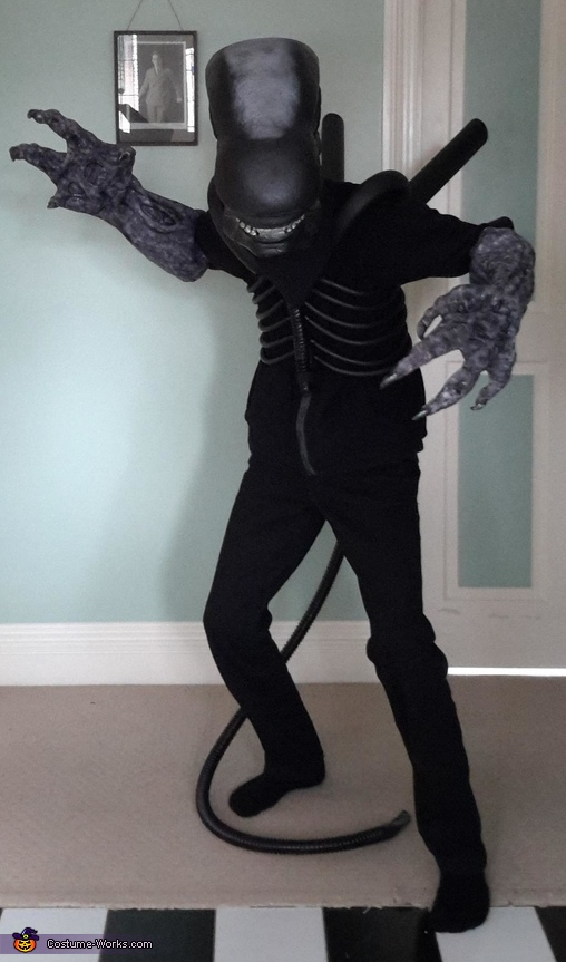 Xenomorph Homemade Costume