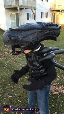 Xenomorph Alien Homemade Costume