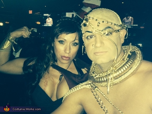 Xerxes from 300 Costume