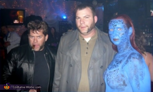 X Men Group Costume