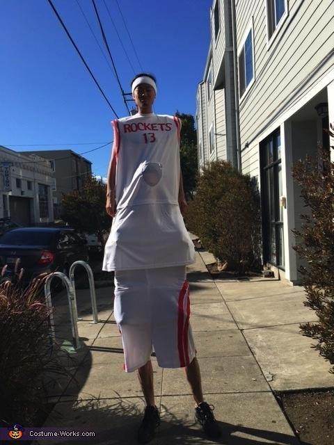 Yao Ming Costume