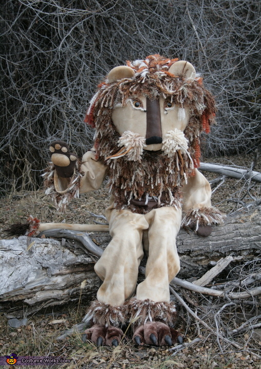 Yarn Lion Costume