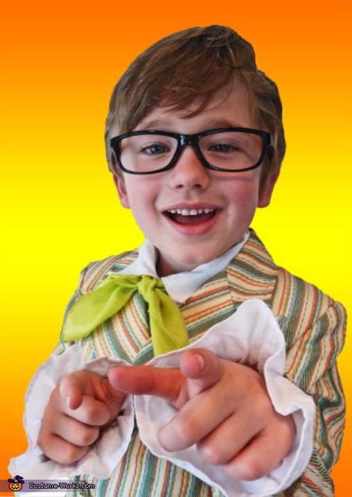 austin powers yeah baby halloween costume for boys