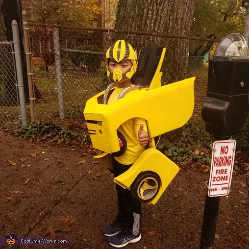 Yellow Bumblebee Costume