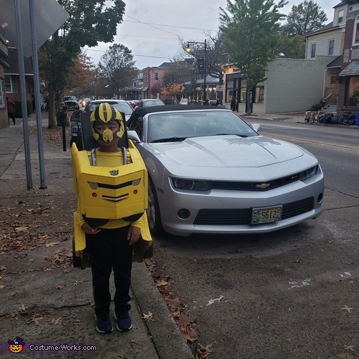 Wanna Ride?, Yellow Bumblebee Costume