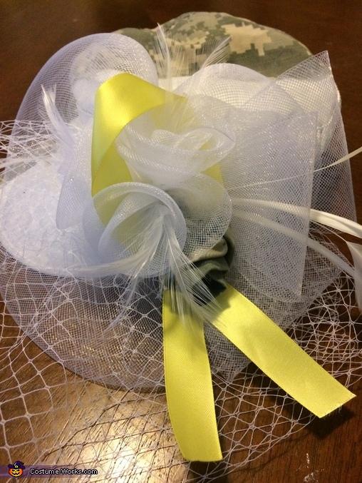 Yellow Ribbon Soldier Homemade Costume
