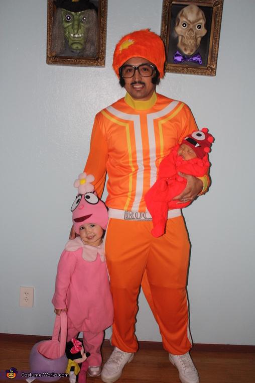 DJ Lance, Foofa & Muno, Yo Gabba Gabba Family Costume