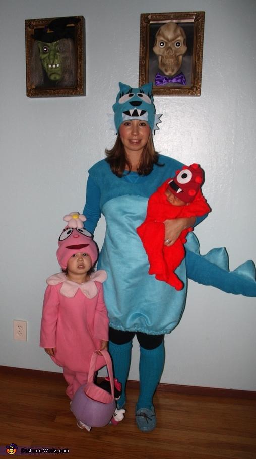 Toodee, Foofa & Muno, Yo Gabba Gabba Family Costume