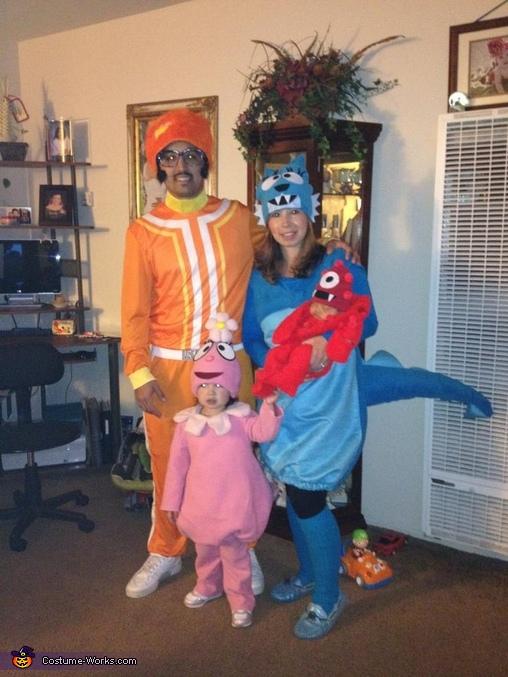 The Yo Gabba Gabba Crew, Yo Gabba Gabba Family Costume