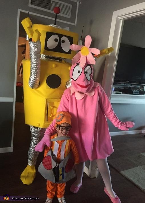 Yo Gabba Gabba Gang Costume