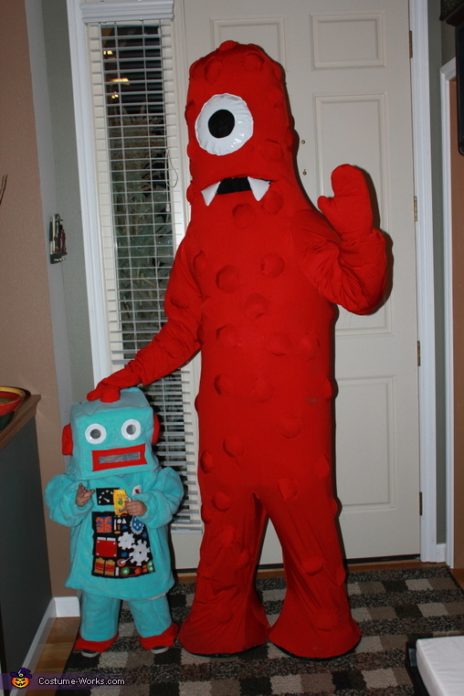 Yo Gabba Gabba Muno Homemade Costume