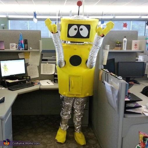 Yo Gabba Gabba Plex Costume