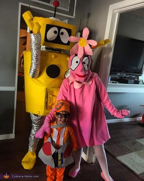 Gabba gang, Yo Gabba Gabba Plex Costume
