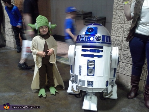 Yoda Homemade Costume
