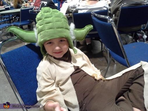 Yoda Homemade Costume