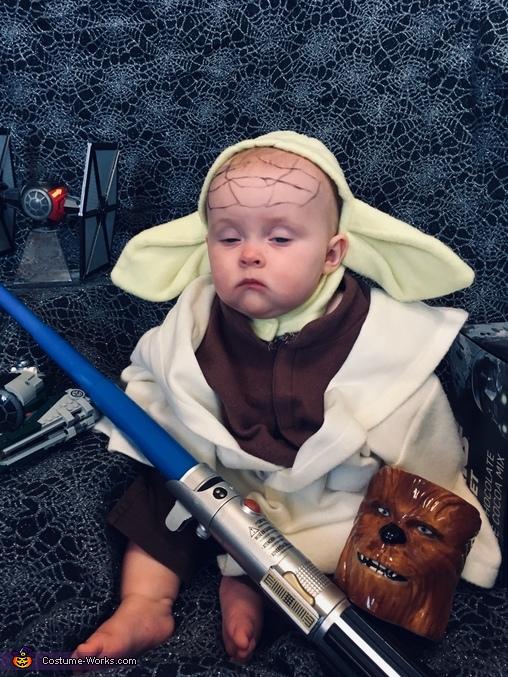 Yoda Baby Costume