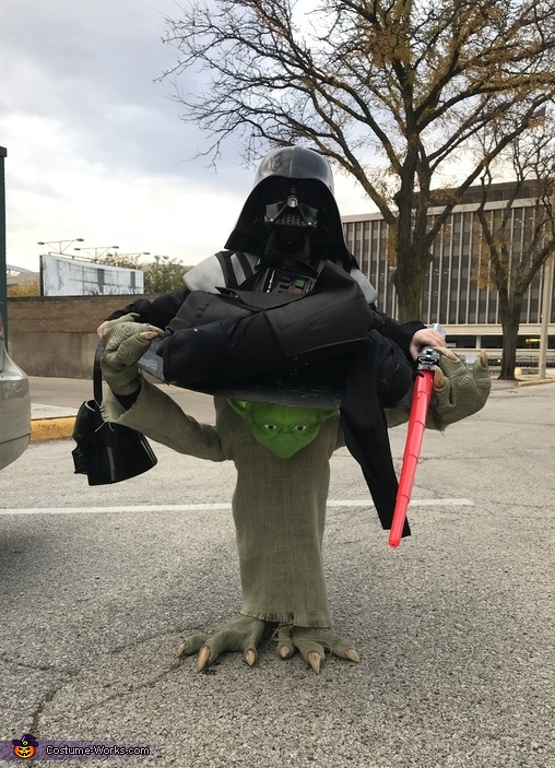 Yoda can handle the Force! Costume