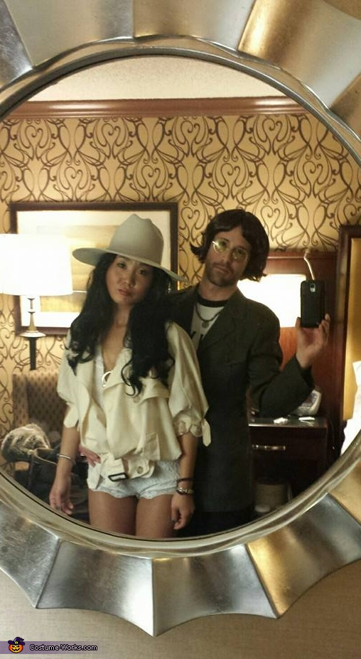Yoko and John Lennon Homemade Costume