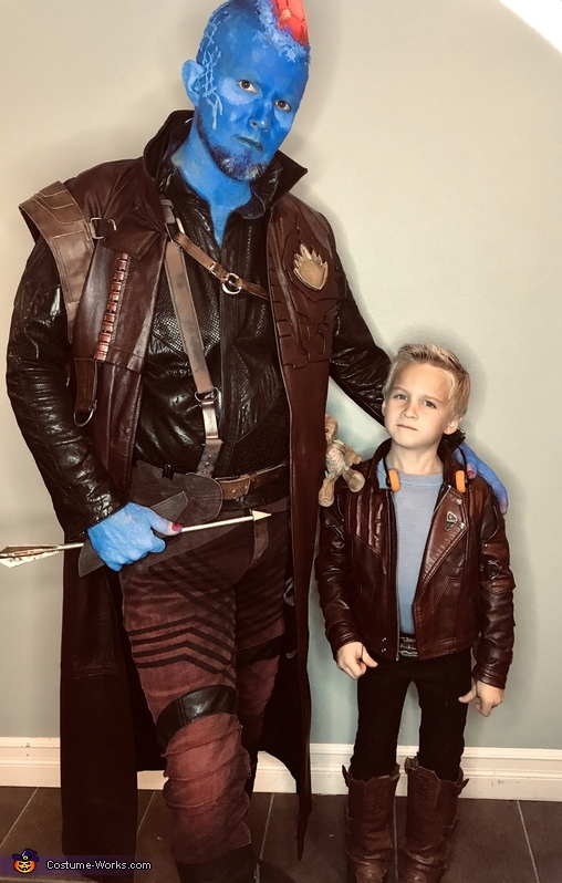 Guardians of the Galaxy - Yondu & young Peter Quill Costume