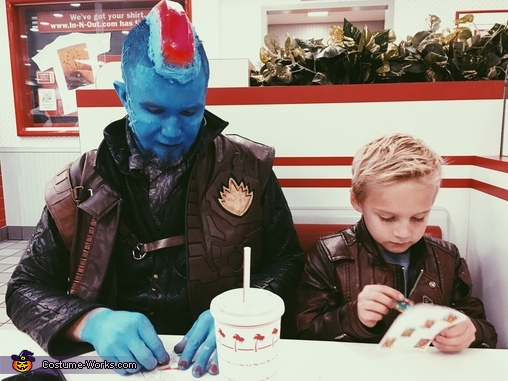 Father son outing, Guardians of the Galaxy - Yondu & young Peter Quill Costume