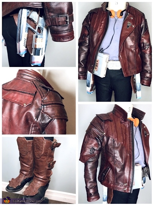 Star-Lord Costume Details, Guardians of the Galaxy - Yondu & young Peter Quill Costume