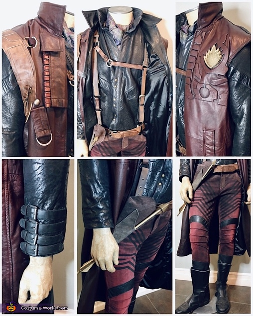Yondu Udonta Costume Details, Guardians of the Galaxy - Yondu & young Peter Quill Costume