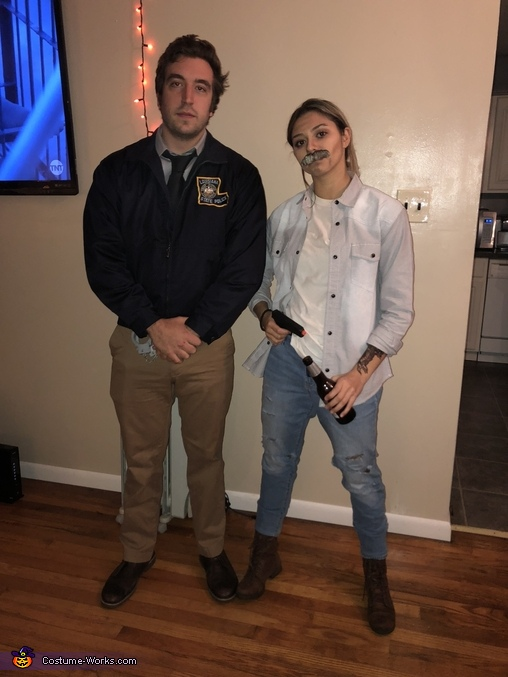 Young and old Rust Cohle from True Detective Costume