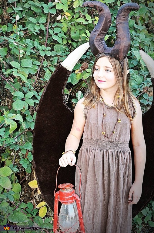 Young Fairy Maleficent Costume