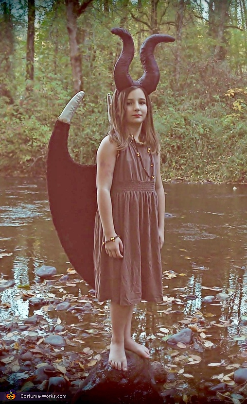 Young Fairy Maleficent Homemade Costume
