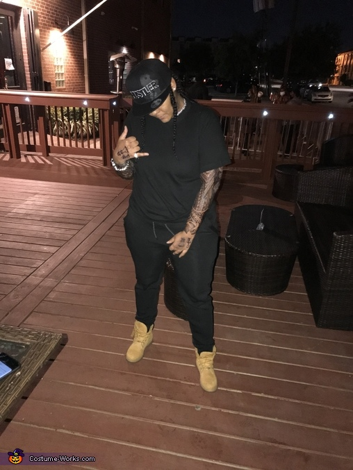 Young M.A. Homemade Costume