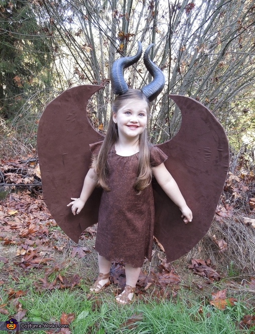 Girl S Young Maleficent Costume