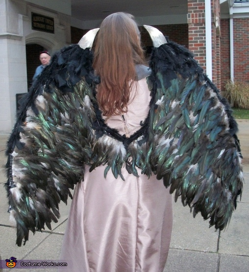 Mighty wings, Young Maleficent Costume