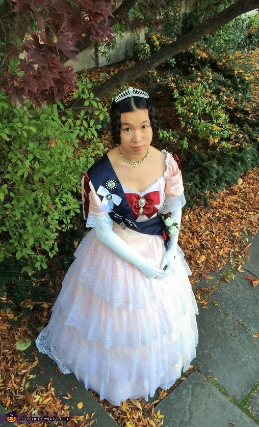 A Young Queen Victoria Costume