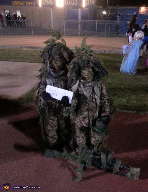 Young Sniper Team Costume