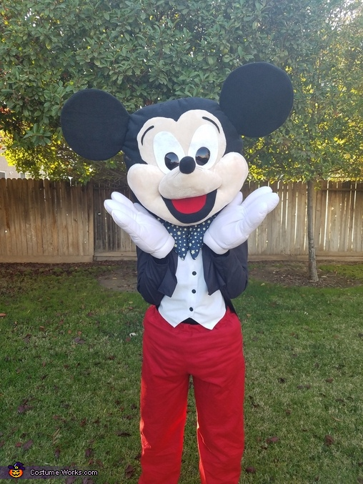 Your Pal, Mickey Mouse Homemade Costume