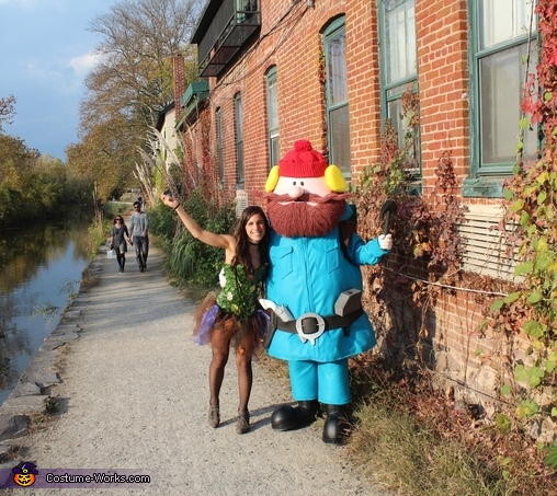 Found my Fairy along the way, Yukon Cornelius Costume