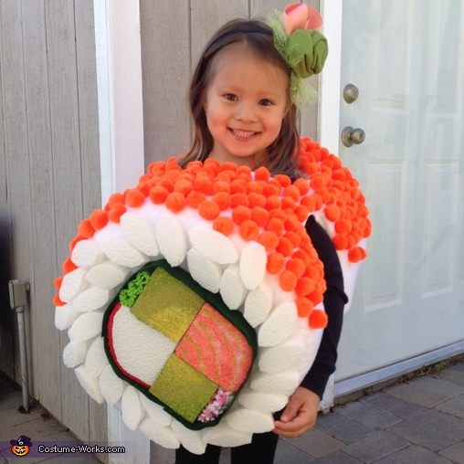 Cutest sushi roll on the block, Yum Yum Sushi Kids Costume