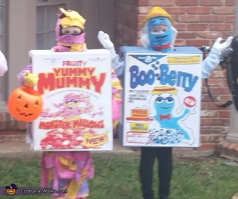 Yummy Mummy and Boo Berry Costume