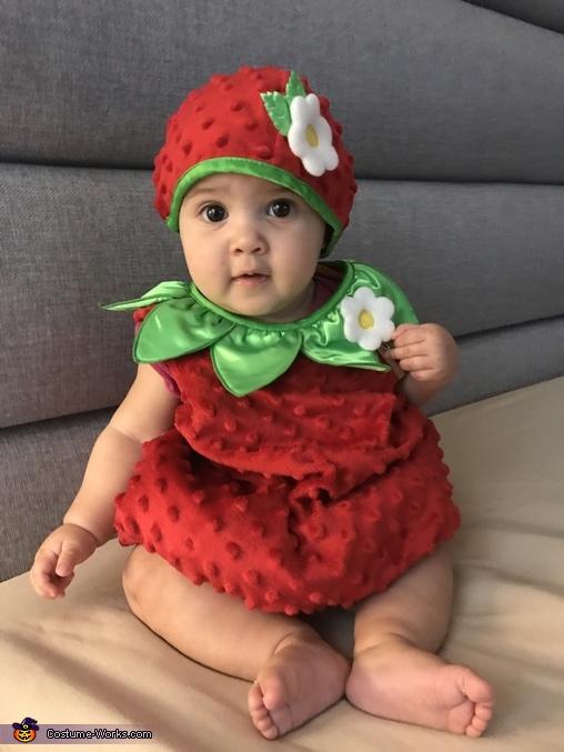 Yummy Strawberry Costume
