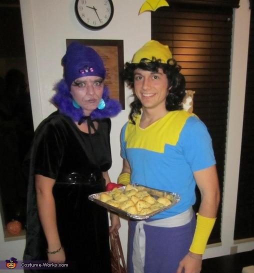 Yzma & Kronk Costume