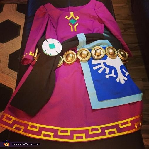 Zelda costume , Zelda Costume