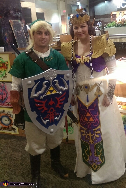 Zelda & Link Homemade Costume