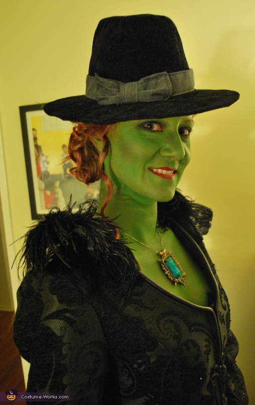 Zelena, the Wicked Witch Homemade Costume