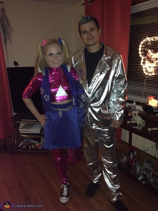 Zenon Girl and Prota Zoa Homemade Costume